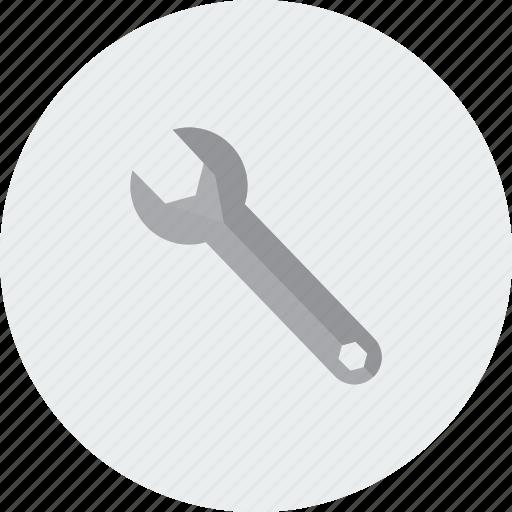 configuration, control, edit, modifie, modify, options, spanner icon