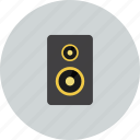 audio, media, multimedia, music, musique, mute, speakers icon