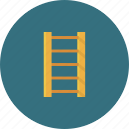 bottom, down, escalator, home, house, ladder, staircase icon