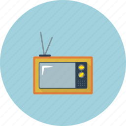 action, animation, home, house, old, television, tv icon