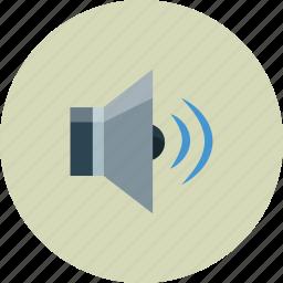 full, media, sounds, volume icon