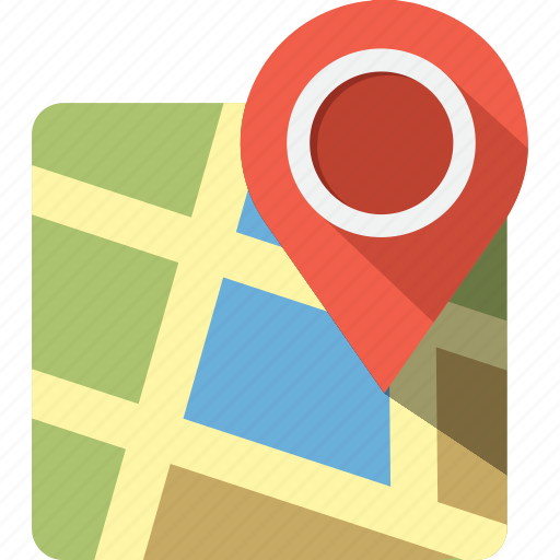 adress, google map, gps, location, map, pin, street icon