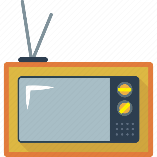 home, monitor, old, screen, television, tv icon