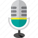 microphone, radio, sounds, volume icon