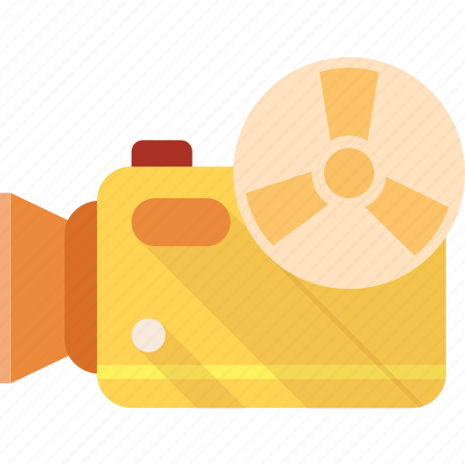 camera, film, media, movie, video, videographer icon