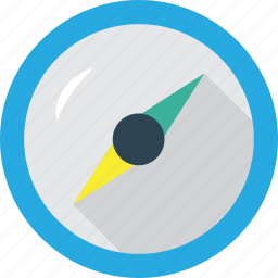 adress, be found, browser, compass, course, direct icon