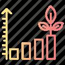 business, chart, growth, optimization, performance icon