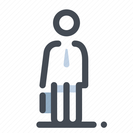 account, business, finance, male, man, marketing, office icon