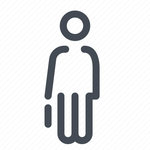 account, business, finance, marketing, office, person, user icon