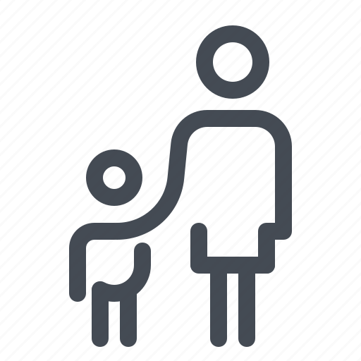 account, baby, child, family, kid, mother, parents icon