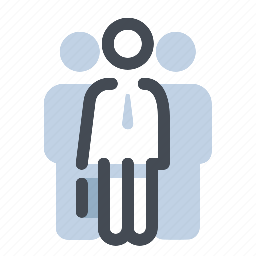 account, business, group, human, male, man, user icon