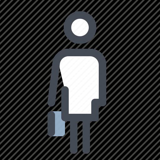 account, communication, female, girl, human, profile, user icon
