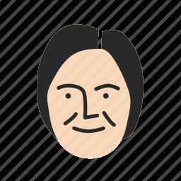face, human, person, persona, user, woman icon