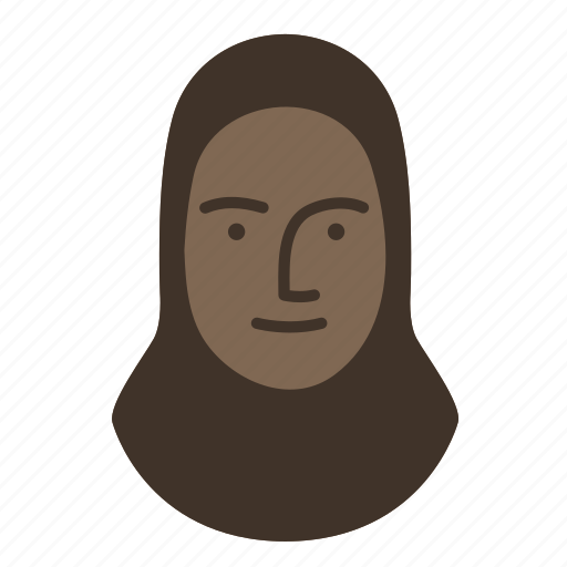 face, human, islamic, person, persona, user, woman icon