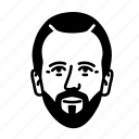 persona, face, human, man, male, user, football player icon