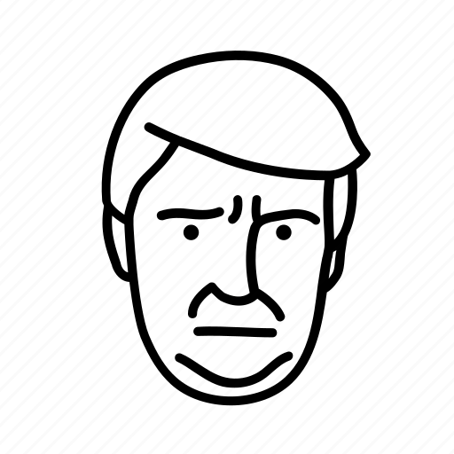 donald trump, face, man, person, persona, user icon
