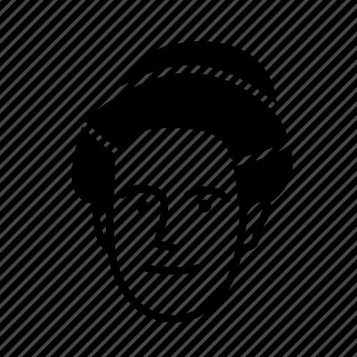 face, girl, person, persona, user, woman icon