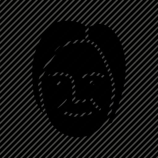 face, human, person, persona black woman, user icon