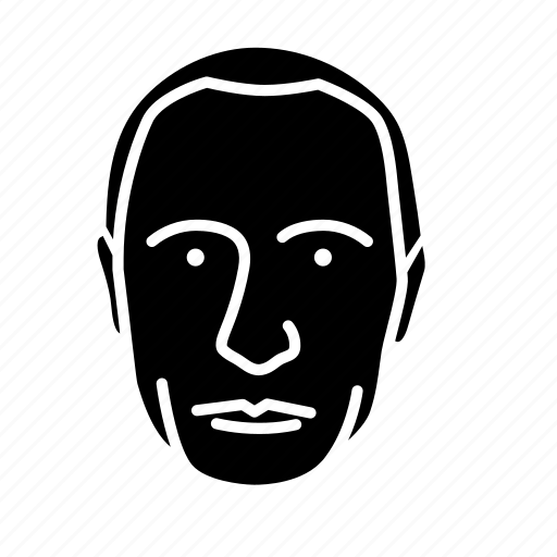 face, human, person, persona black man, user icon