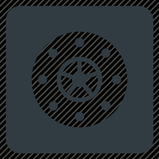 bank, bank vault, locker, value, vault icon