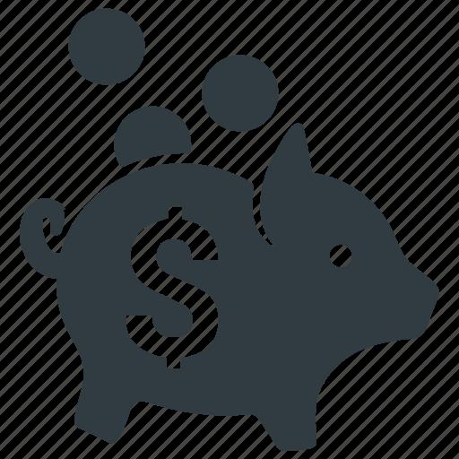 bank, coin, guardar, money, piggy, piggy bank, save icon