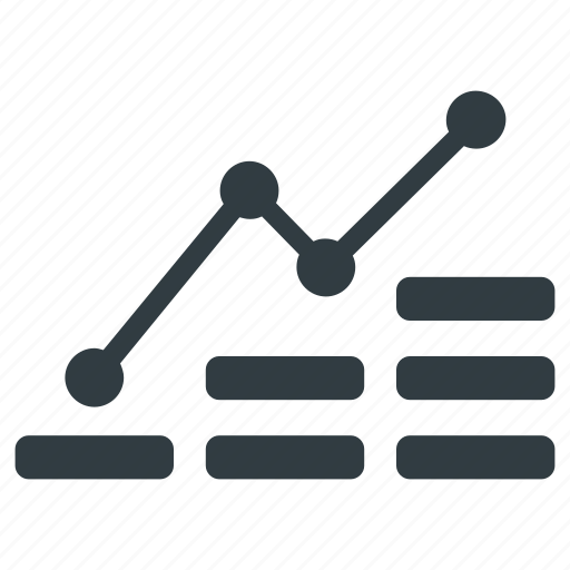 analysis, analytics, bar, chart, dollar icon