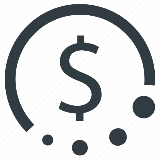 Dollar, money history, payment history, refinancing, refund icon - Download on Iconfinder