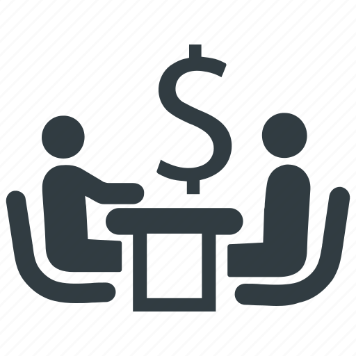 business discussion, business negotiations, business plan, business talks icon