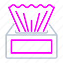 cleaner, cleaning, personal care, tissues, washing icon