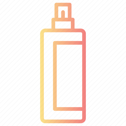 beauty, bottle, hair, personal care product, spray icon