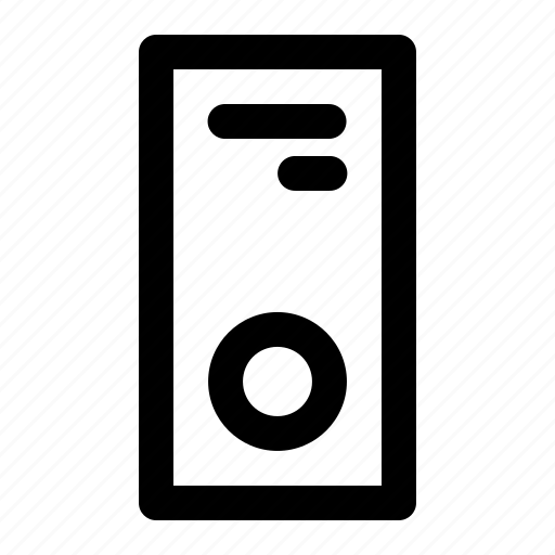 computer, pc, personal icon