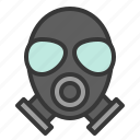 equipment, gas mask, protection, protective, safety