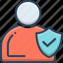 ethics, honesty, integrity, trust icon
