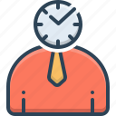 periodic, punctual, schedule, timely icon