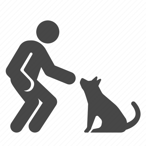 character, dog, habit, kind, manner, pet, suave icon