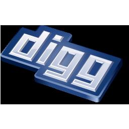 digg, social media icon