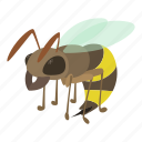 beetle, bite, bug, cartoon, insect, nature, wasp icon