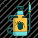 acarus, cartoon, chemical, equipment, pulverizer, spray, sprayer