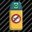cartoon, control, insect, malaria, mosquito, no, spray