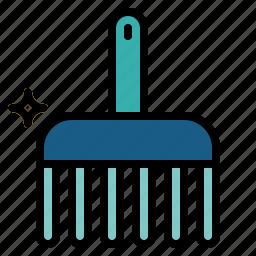 beauty, comb, grooming, pet, salon icon