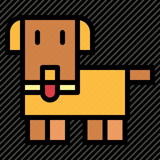 animals, dog, mammal, pet icon