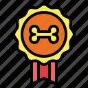 award, badge, medal, pet