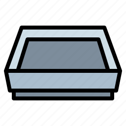 food, kitchen, pack, pet, tray icon