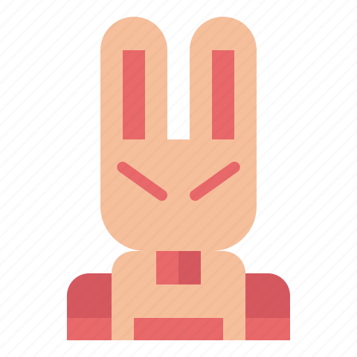 bunny, easter, pet, rabbit icon