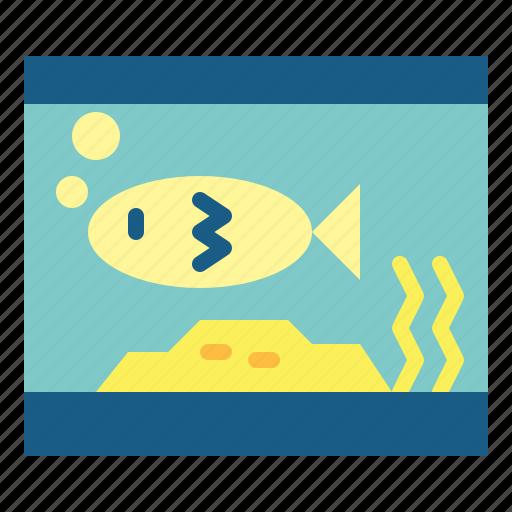 bone, fish, fishbones, trash icon