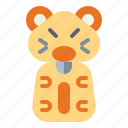 animals, hamster, mouse, pet, rodent icon