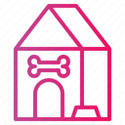 dog, house, kennel, pet icon