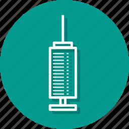 healthcare, hypodermic syringe, medicine, pet medicine, pill, plug, syringe icon