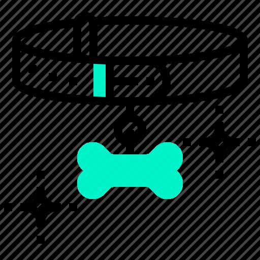 animal, collar, dog, neck, pet icon