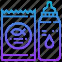 antibacteria, chemical, disinfectant, drugs, fish icon